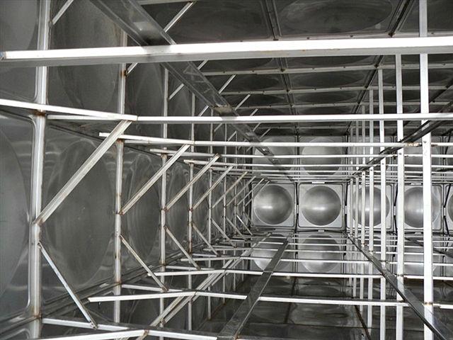 石家庄国际贸易城(石家庄西兆通镇)A区不锈钢水箱内部结构图片