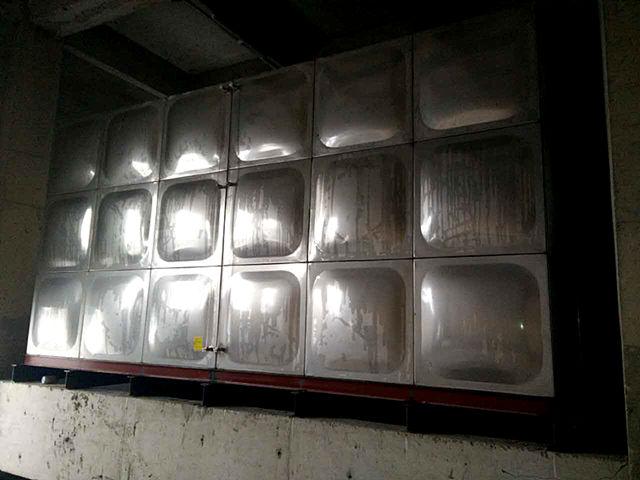 石家庄国际贸易城(石家庄西兆通镇)A区不锈钢水箱