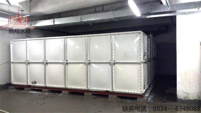 上海市72立方玻璃钢水箱