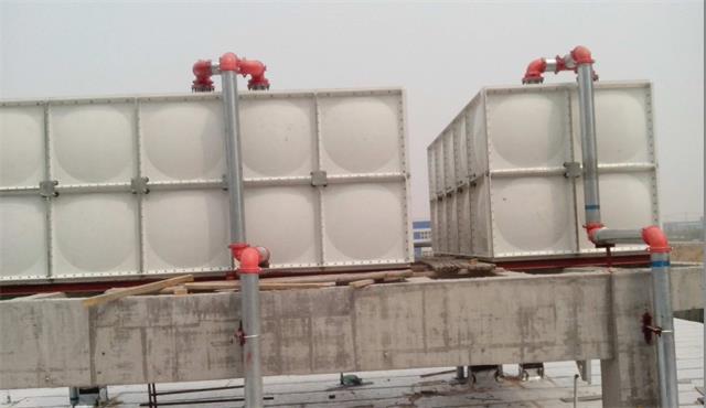高位消防玻璃钢消防水箱