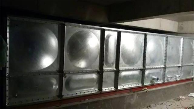 沧州市19立方镀锌钢板水箱