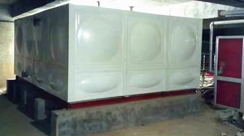 河南安阳港丽湾大酒店镀锌钢板水箱安装实例