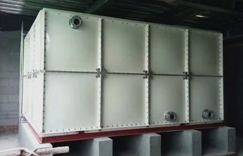 河北燕郊玻璃钢水箱安装实例