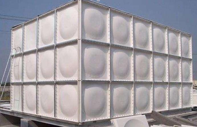 玻璃钢水箱生产及细节图