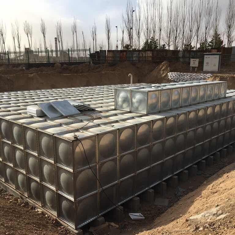 地埋式镀锌钢板水箱