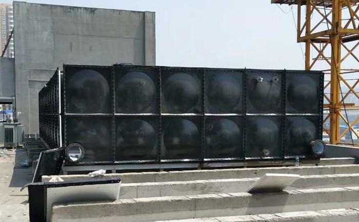 装配式搪瓷钢板水箱_搪瓷水箱-山东腾翔不锈钢水箱公司