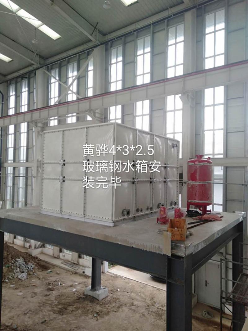 沧州黄骅市30立方玻璃钢水箱